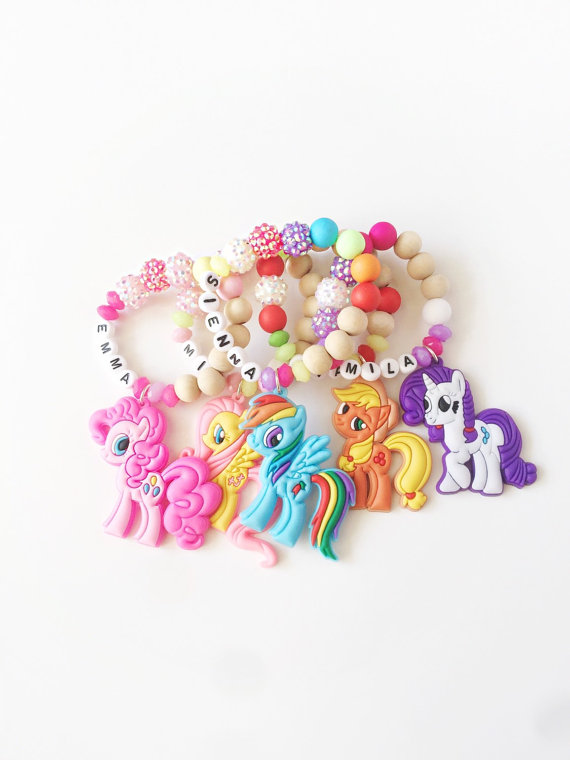 My Little Pony Bracelet Party Favors | CatchMyParty.com