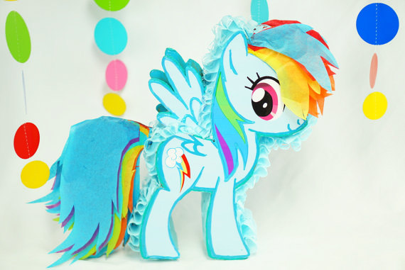 My Little Pony Pinata | CatchMyParty.com