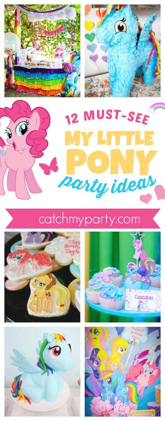 12 Must-See My Little Pony Birthday Party Ideas | CatchMyParty.com