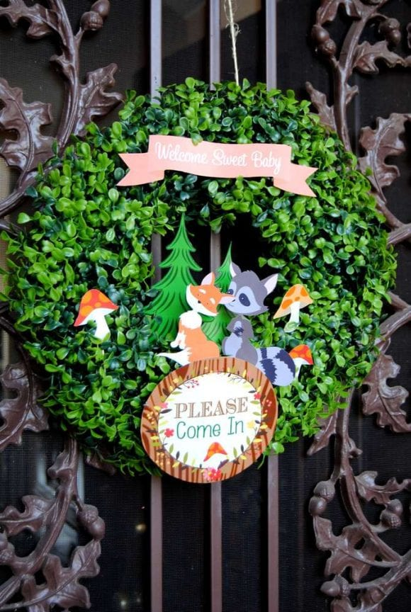 Woodland Decorations | CatchMyParty.com