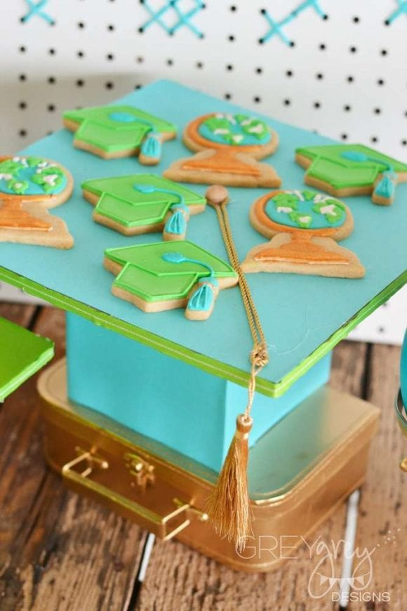 Graduation Cookies | CatchMyParty.com