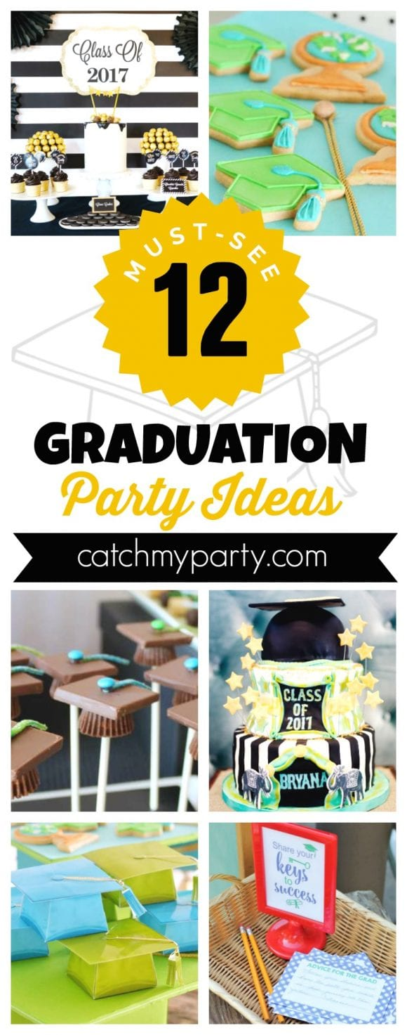 12 Must-See Graduation Party Ideas | CatchMyParty.com