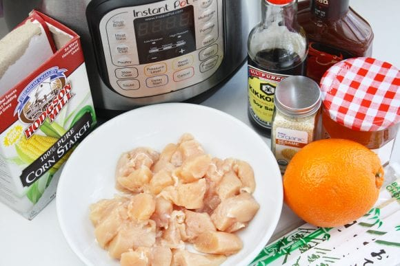 Instant Pot Orange Chicken Ingredients | CatchMyParty.com