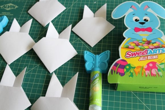 Making Origami Easter Bunnies | CatchMyParty.com