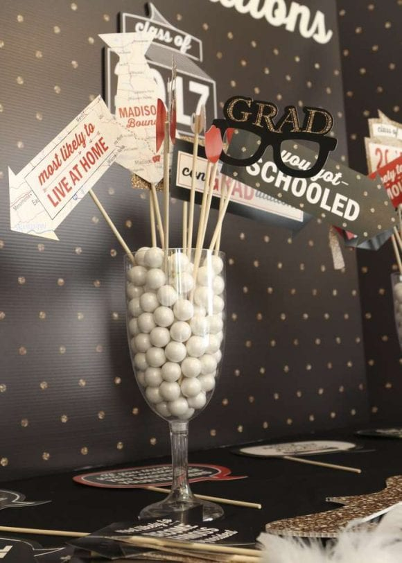 Graduation Photo Booth Props | CatchMyParty.com
