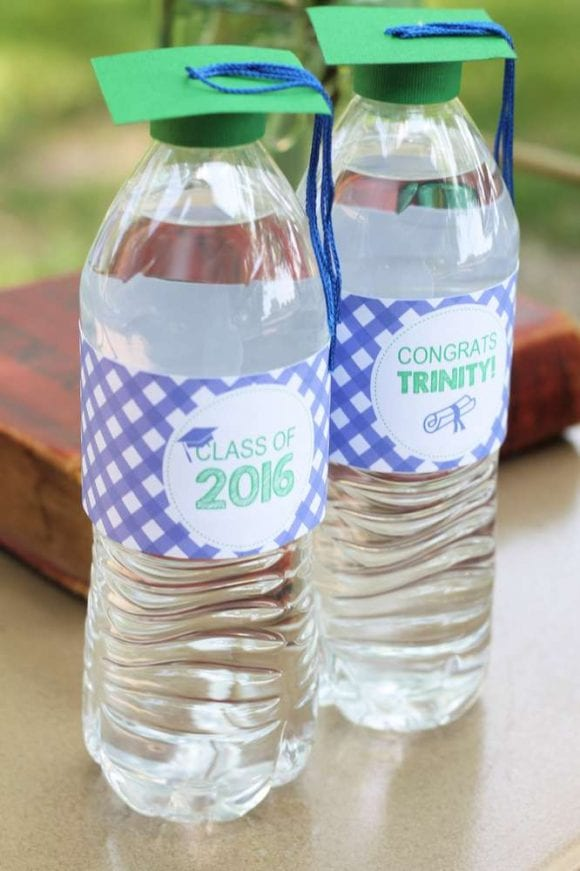 Graduation Water Bottles | CatchMyParty.com