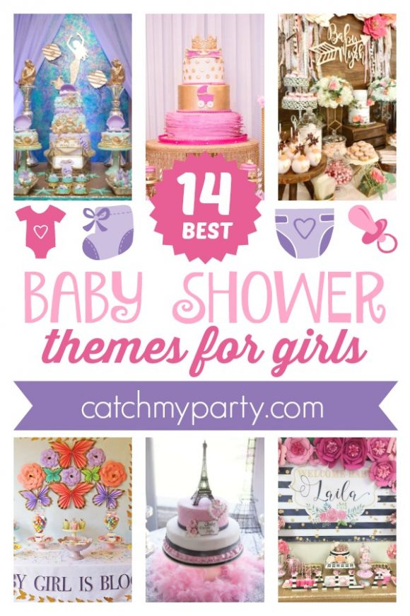 The 14 BEST Baby Shower Themes for Girls | CatchMyParty.com