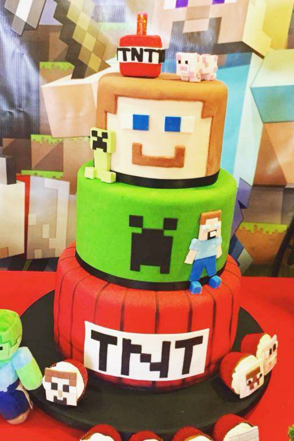 Fine Get Ready To Be Blown Away By These 12 Minecraft Cakes Catch My Funny Birthday Cards Online Fluifree Goldxyz