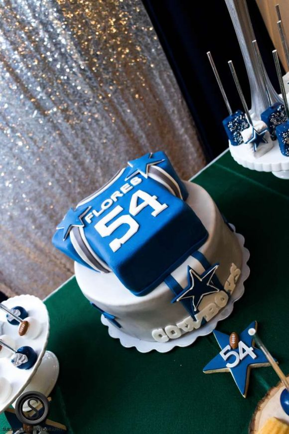 Football Boy Baby Shower | CatchMyParty.com