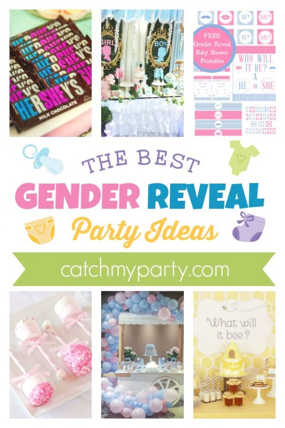 The Best Baby Gender Reveal Ideas | CatchMyParty