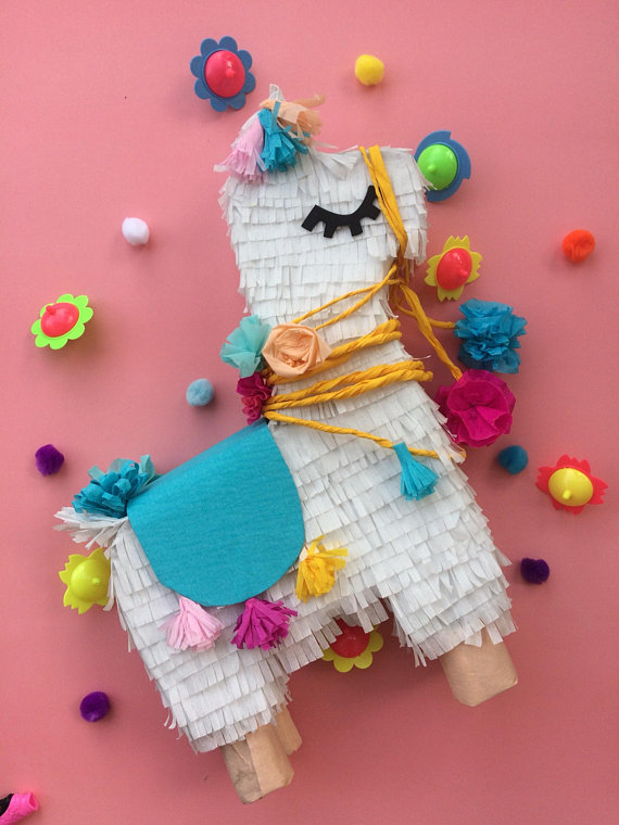 Llama party supplies - pinata | CatchMyParty.com