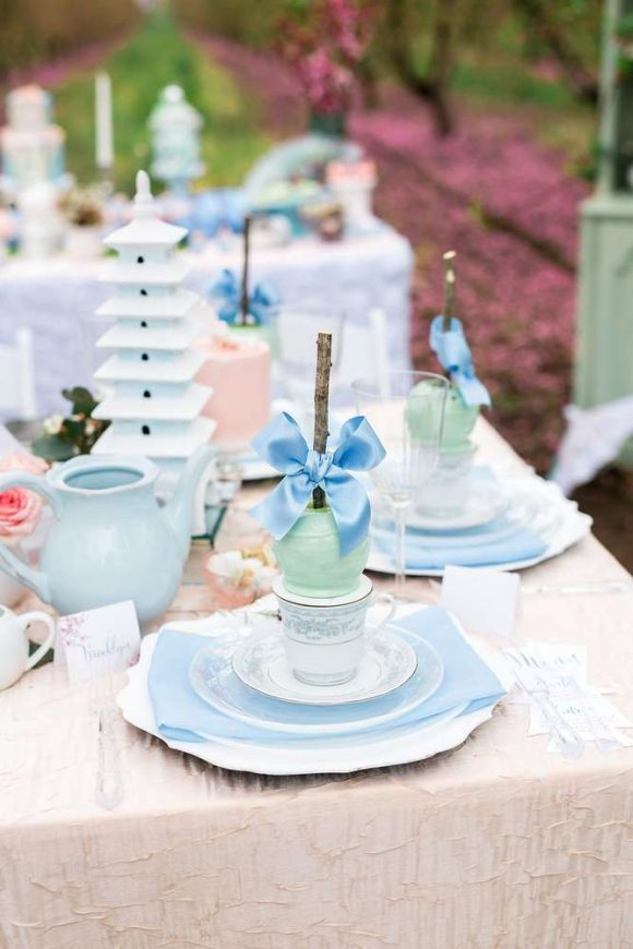 Tea Party Bridal Shower | CatchMyParty.com
