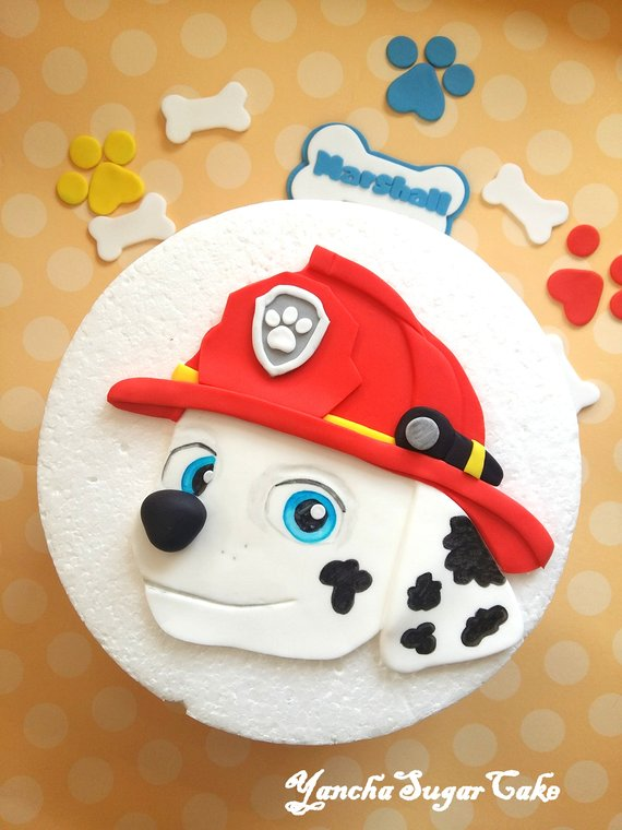 Paw Patrol party supplies - Cake Topper | CatchMyParty.com