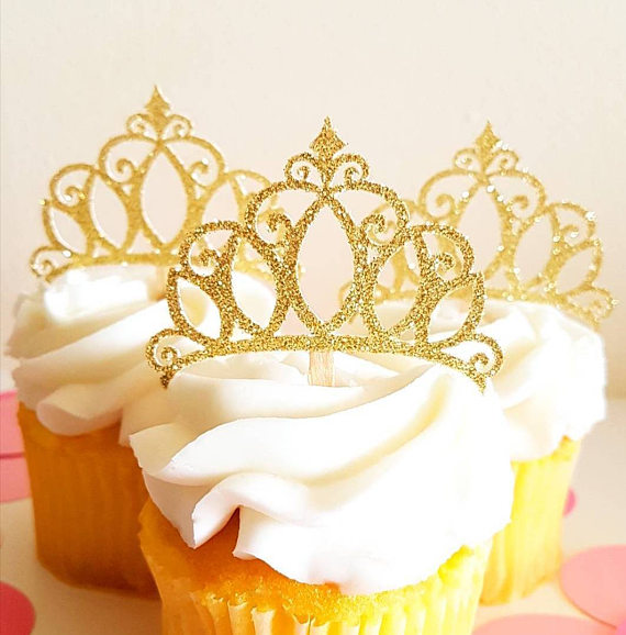 Quinceanera party supplies - Cupcake Toppers | CatchMyParty.com