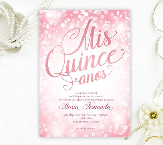 Quinceanera Party Invitation | CatchMyParty.com