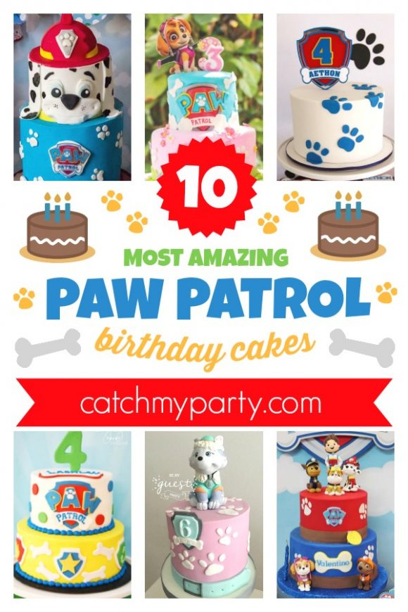 Feast Your Eyes on the 10 Most Amazing Paw Patrol Cakes | CatchMyParty