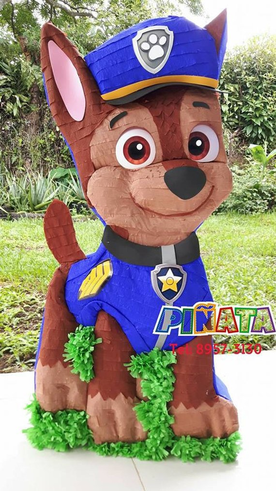 Paw Patrol party supplies - pinata | CatchMyParty.com