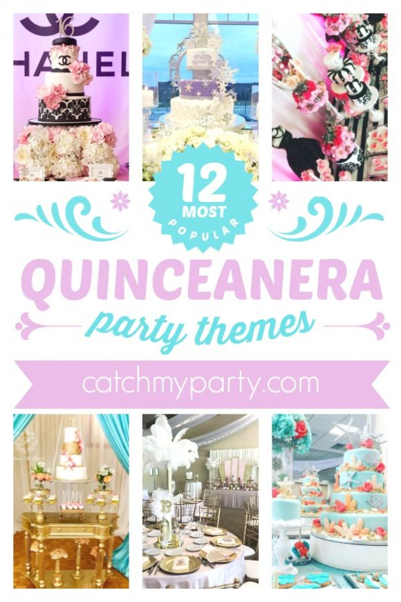 The 12 Most Popular Quinceanera Themes For An Amazing Party! | CatchMyparty.com