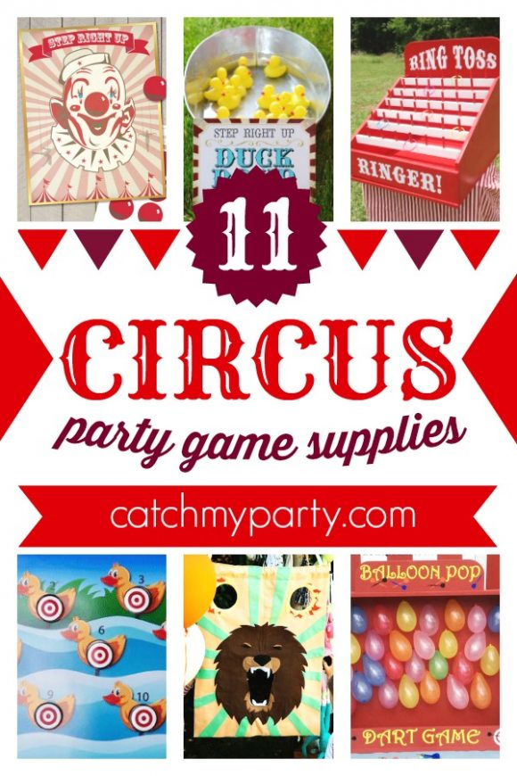 Want to See the 10 Best Circus Games for Your Awesome Party? | CatchMyParty.com