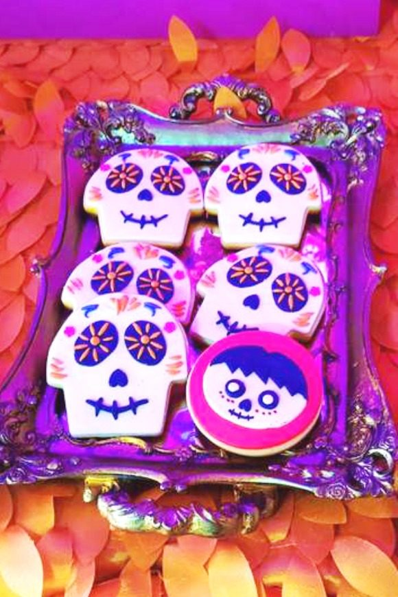 Disney Coco Cookies | CatchMyParty.com