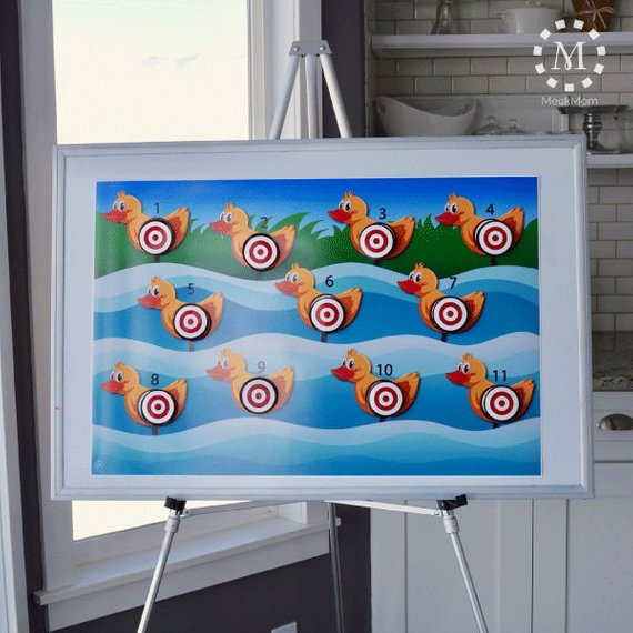 Circus party game supplies - Duck Hunt Target Shoot | CatchMyParty.com