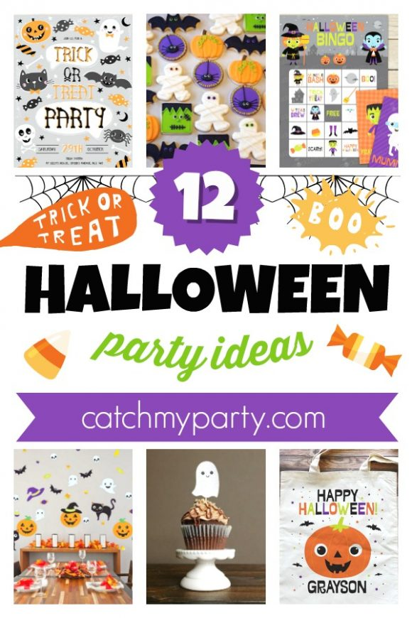 Look at the 12 Most Awesome Kids' Halloween Party Supplies | CatchMyParty.com