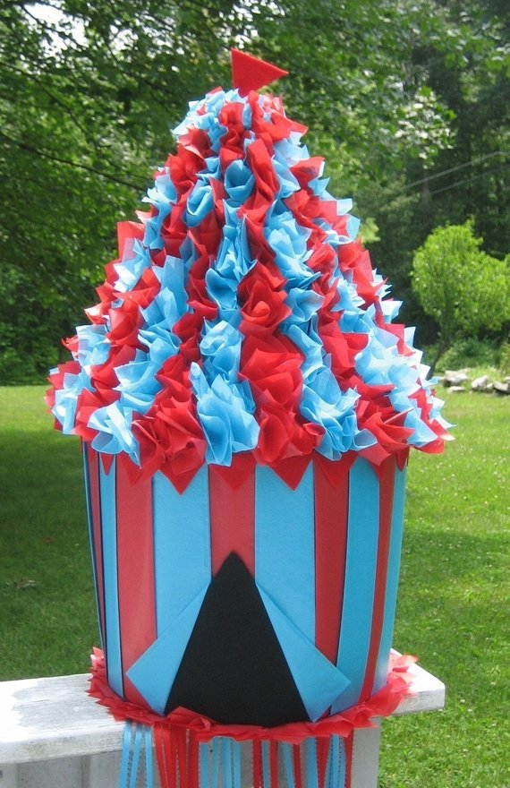 Circus party games supplies - Big Tent Pinata | CatchMyParty.com