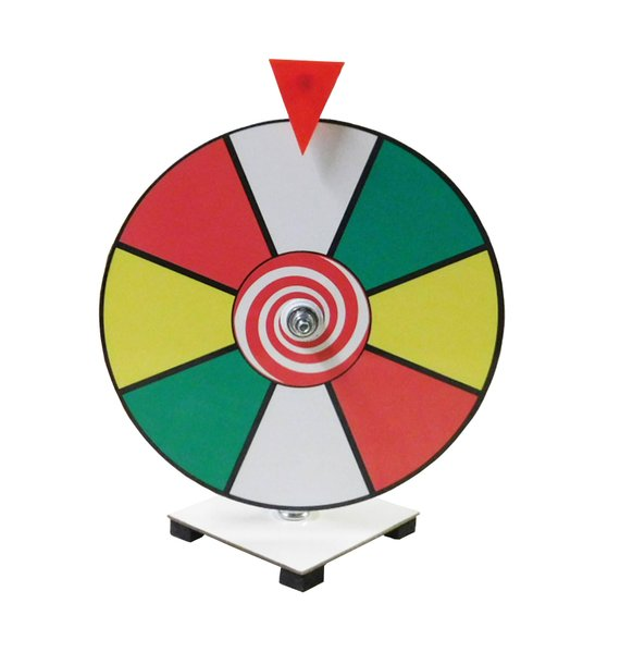 Circus party game supplies - Spin the Wheel | CatchMyParty.com