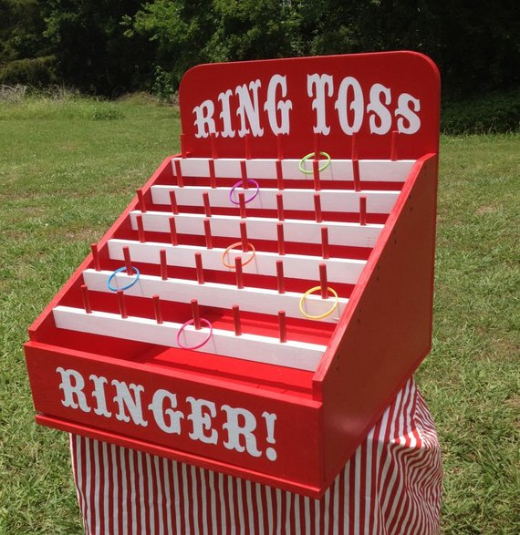 Circus party game supplies - Ring Toss | CatchMyParty.com