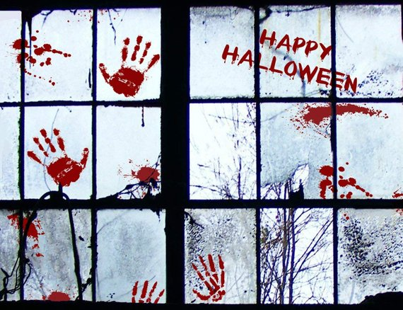 Scary Halloween decoration supplies - Window Decor | CatchMyParty.com