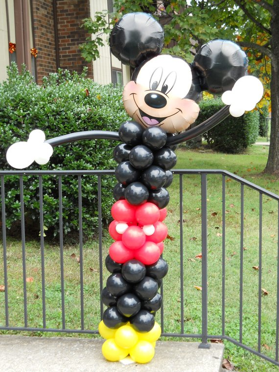 Mickey Mouse party supplies - Balloon | CatchMyParty.com