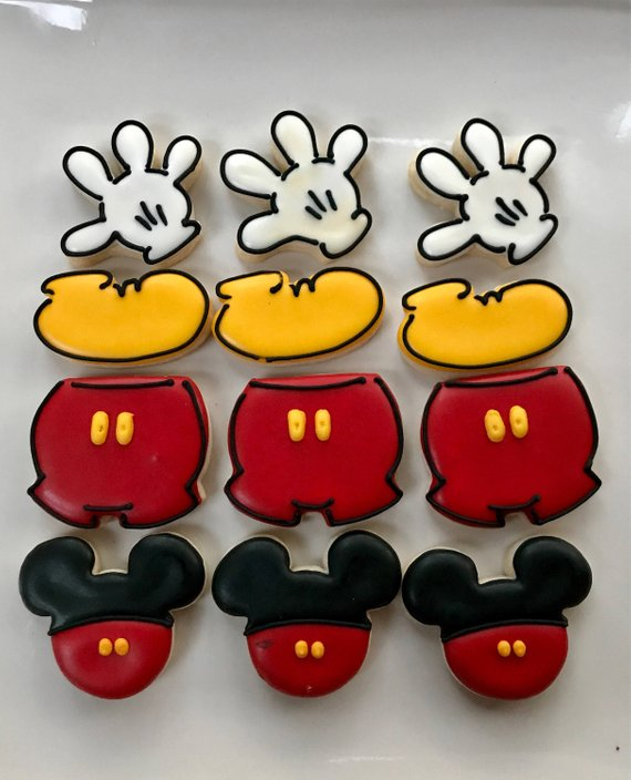 Mickey Mouse party supplies - Cookies | CatchMyParty.com