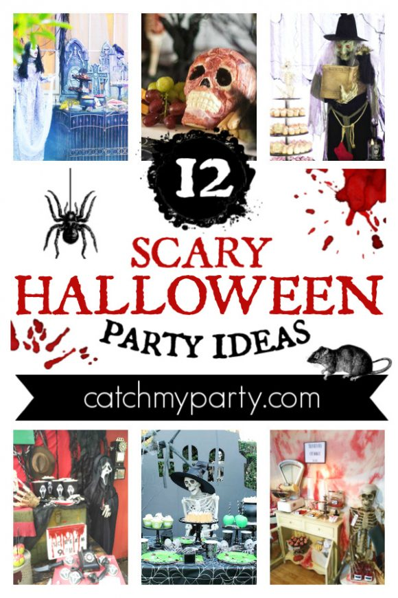 Get the Fright of Your Life with These 12 Scary Halloween Parties! | CatchMyParty.com