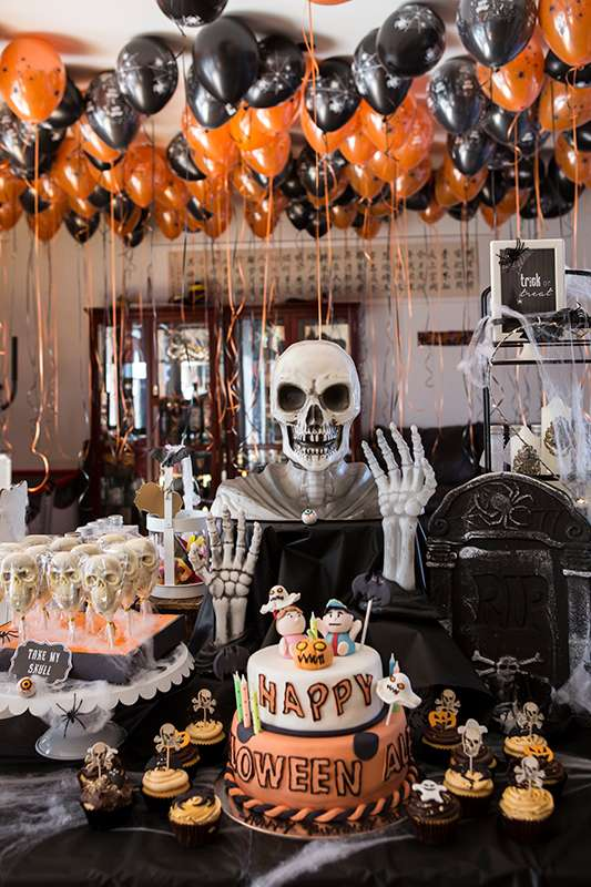 Creepy Halloween Party | CatchMyParty.com