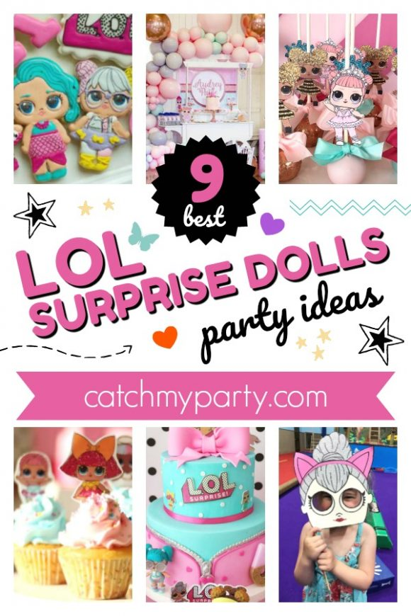 The 12 Best Lol Surprise Doll Birthday Party Ideas | CatchMyParty.com