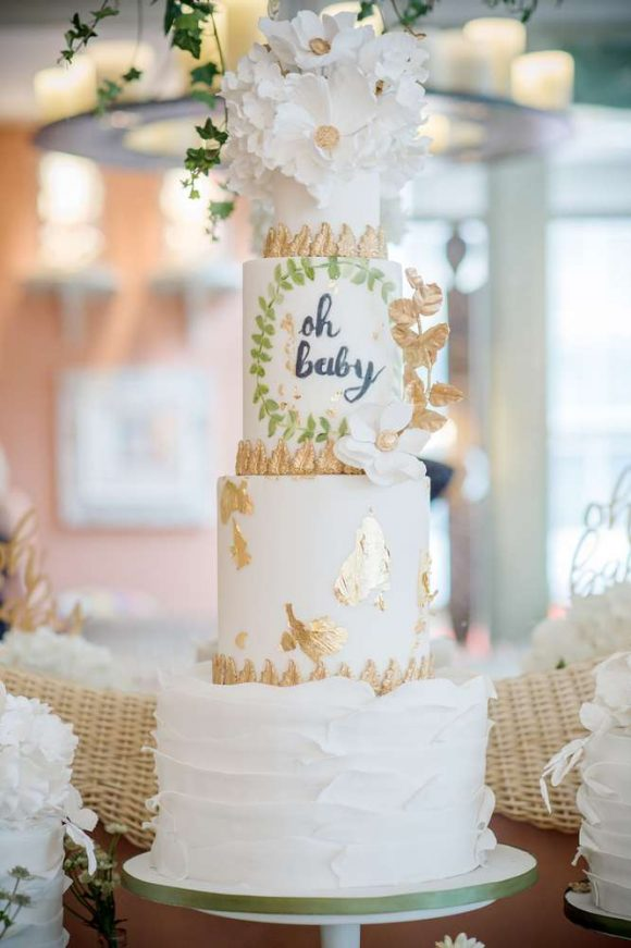 Rustic Baby Shower | CatchMyParty.com