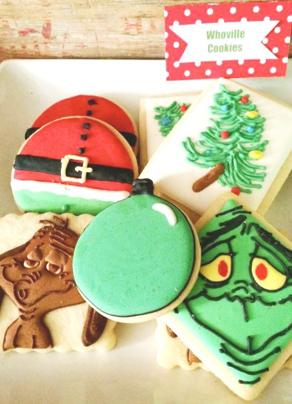 The Grinch Cookies | CatchMyParty.com
