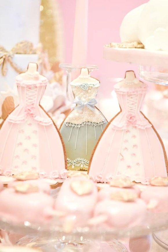 Vintage Princess Birthday Party | CatchMyParty.com