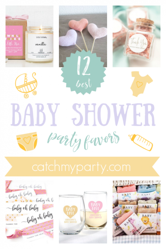 The 12 Best Baby Shower Party Favors | CatchMyParty.com
