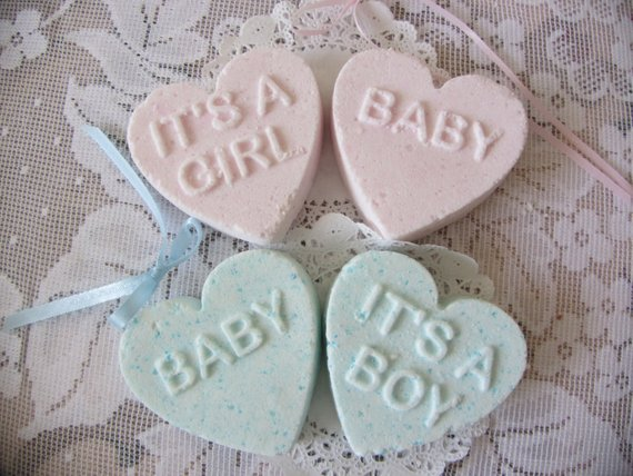 Baby Shower Party Favors - Bath Bomb | CatchMyParty.com