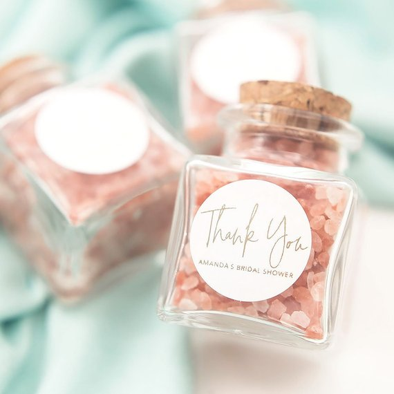 Baby Shower Party Favor - Bath Salt| CatchMyParty.com