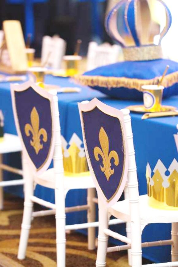 Prince Chair Decorations | CatchMyParty.com