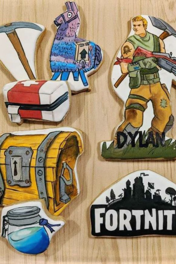Fortnite Cookies | CatchMyParty.com