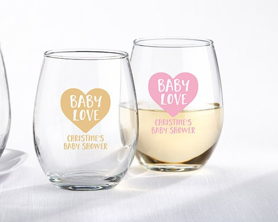 Baby Shower Party Favors - Glasses | CatchMyParty.com