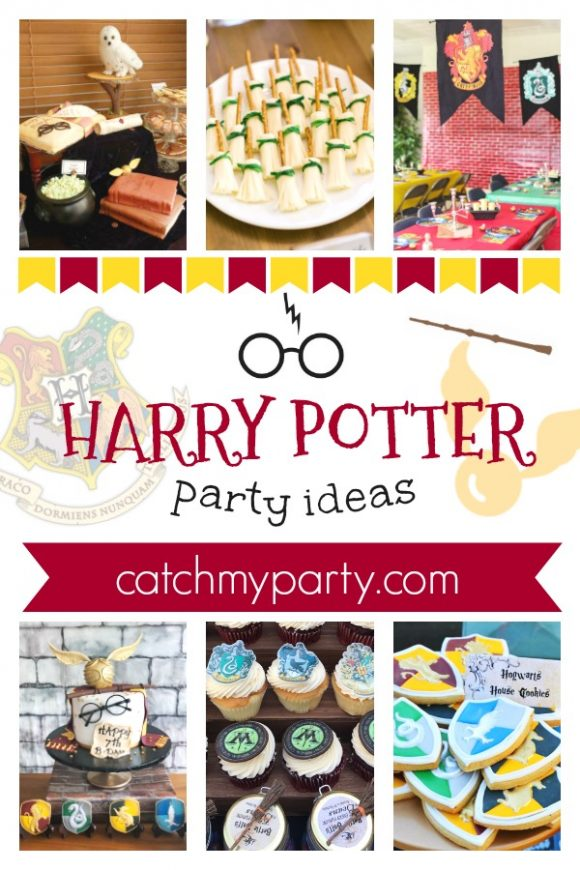 Fall Under the Spell of These Amazing Harry Potter Party Ideas! | CatchMyparty.com