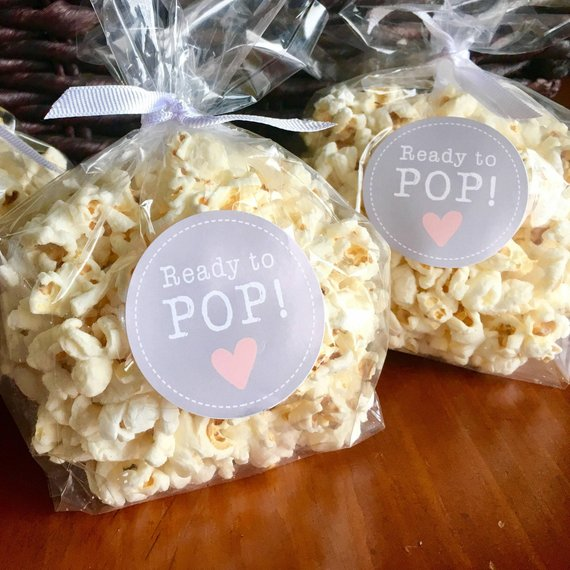 Baby Shower Party Favors - Popcorn | CatchMyParty.com