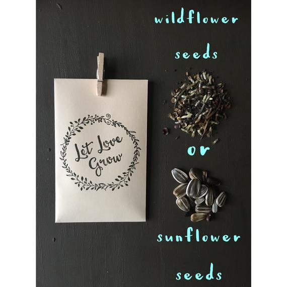 Baby Shower Party Favor - Seeds | CatchMyParty.com