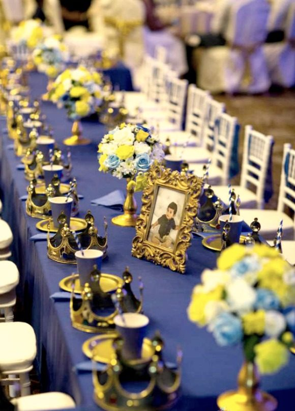 Prince Table Settings | CatchMyParty.com