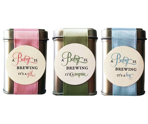 Shower Party Favor - Tea | CatchMyParty.com