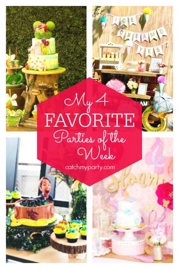 4 Favorites Parties of the Week